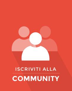Partecipa alla community