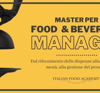 Foto Il Corso IFA per diventare Food & Beverage Manager